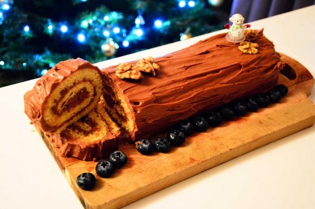 Why do we eat chocolate logs?
