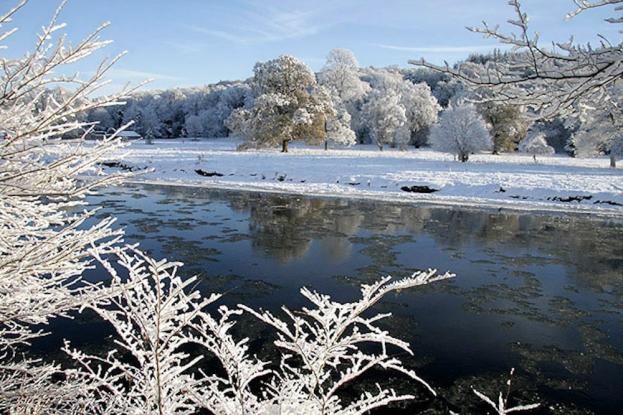 Winter magic on the River Tweed
