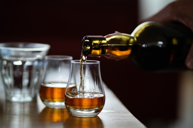 Warm yourself with a whisky