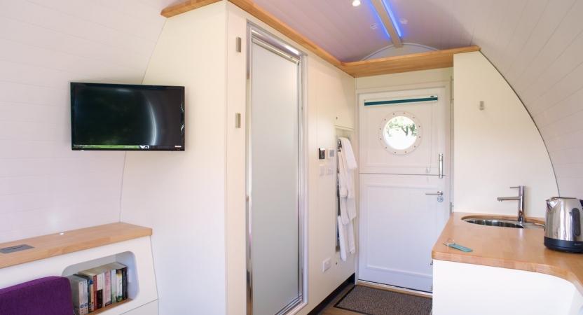 Inside Rowan Pod
