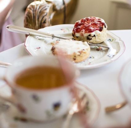 Afternoon tea is Scottish self-care