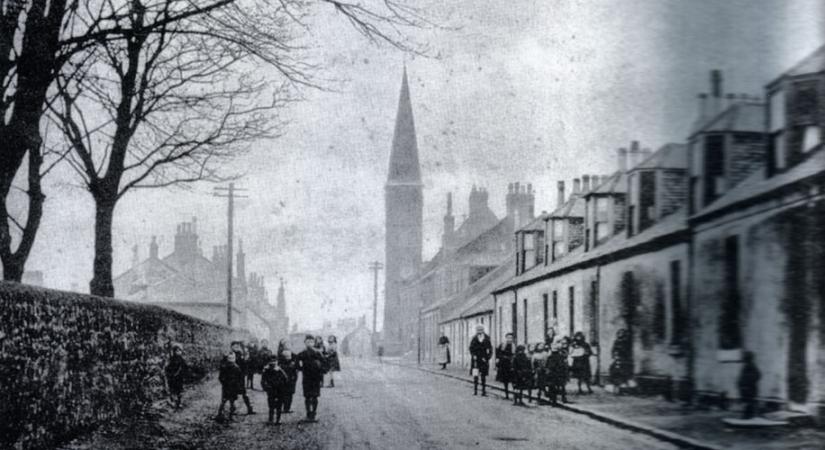 Chryston Parish Church c. 1900 built 1878