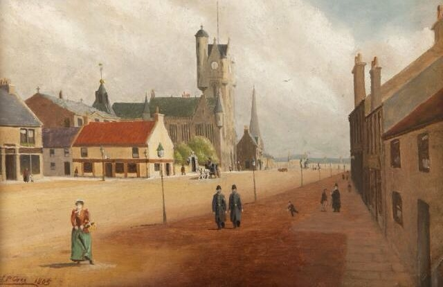Rutherglen Main Street after 1872.