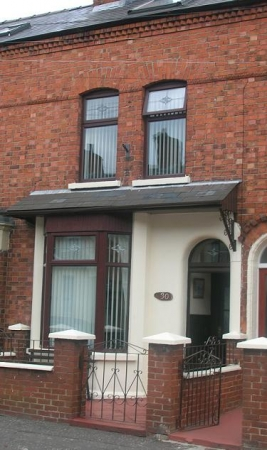 Modern-day view of 30 Rutland Street, South Belfast