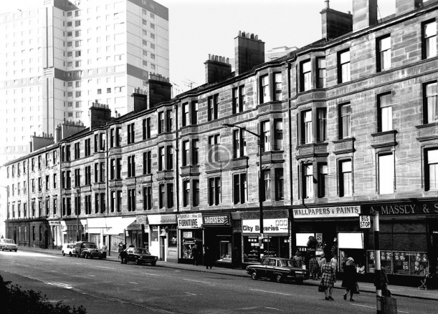 Crown Street where the Macartneys resided at no. 226