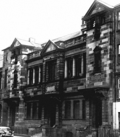 Gorbals Free Church at 95 South Portland Street