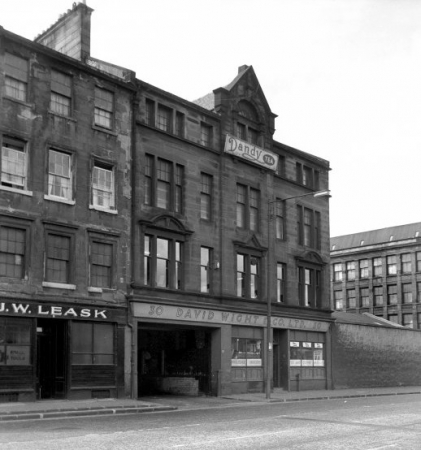 Premises of Davd Wight & Co. Ltd. at 30 Clyde Place, Tradeston