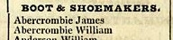 William and James's entry in Kilsyth section of Pigot's Directory (1824)