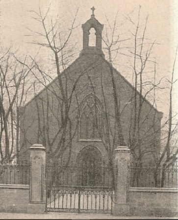The Original St. Columbkille's Catholic Chapel in Main Street in Rutherglen
