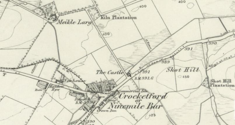 The Farm at Meikle Larg c.1860