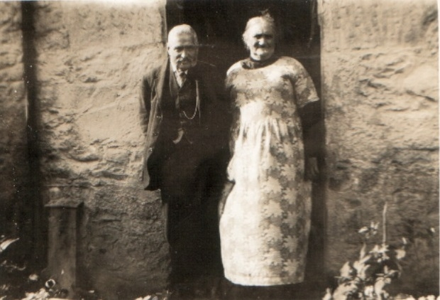 Douglas and Mary Ann Carson possibly at Penpont c.1915
