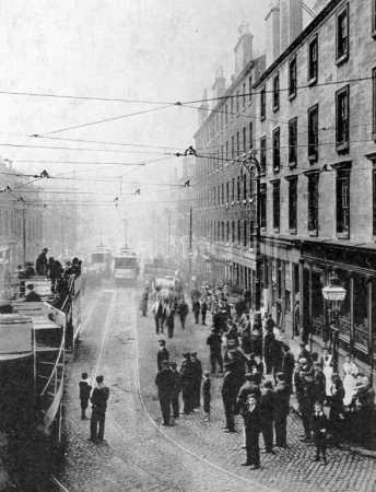 Pariamentary Road in 1898