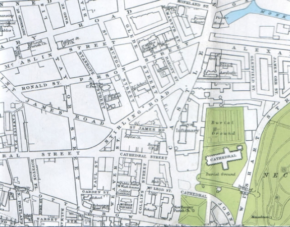 1929 Map of Townhead area