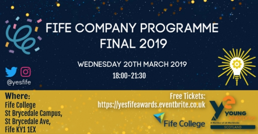 Fife Regional Final will be held at St Brycedale Campus, Fife College