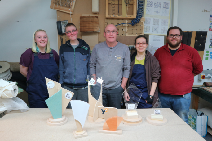 NC Furniture Students at Fife College