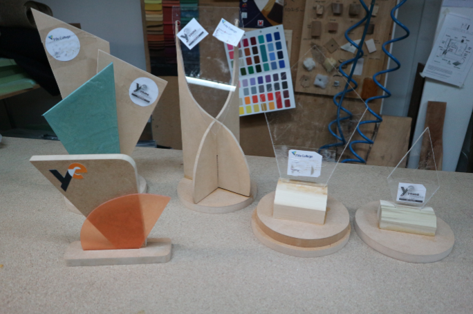Fife College Students Mock Up Designs