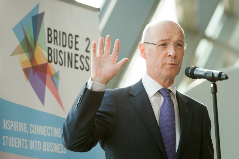 Deputy First Minister - John Swinney Launching Bridge 2 Business