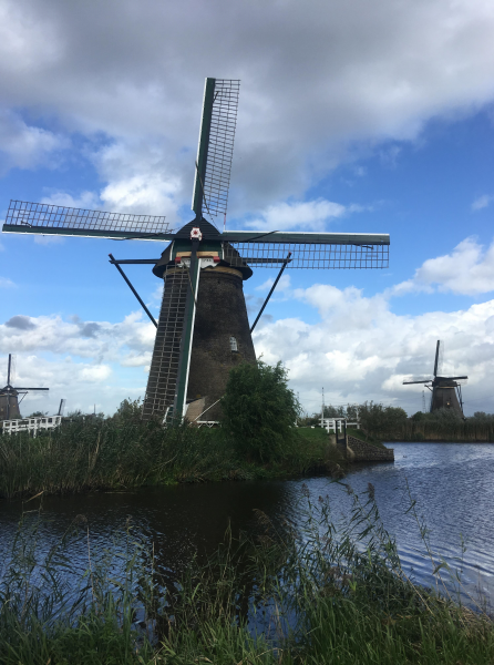 It wouldn't be a trip to Holland without a windmill!