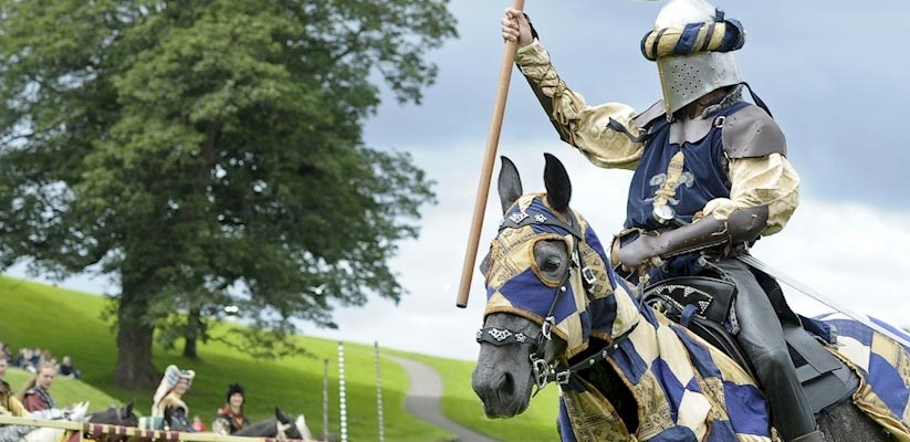 Watch as noble knights battle it out to be crowned champion.