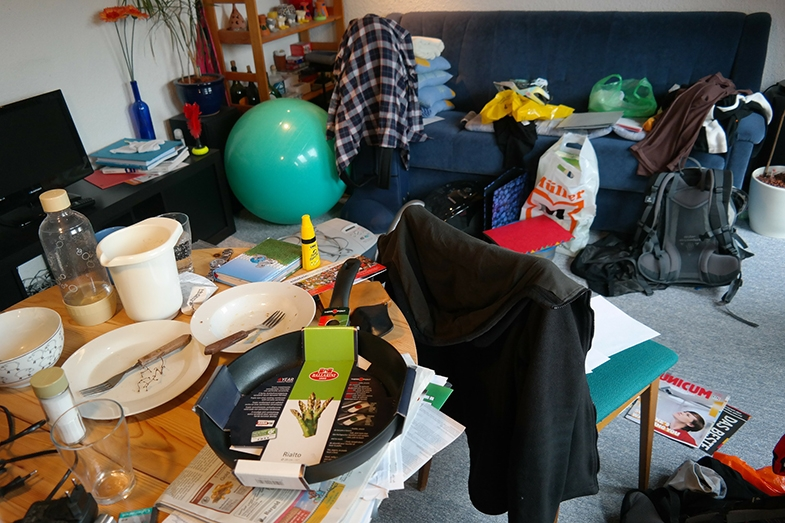 Clutter is CVI's public enemy! Simple inexpensive alterations in the home can be life changing for the person with CVI.