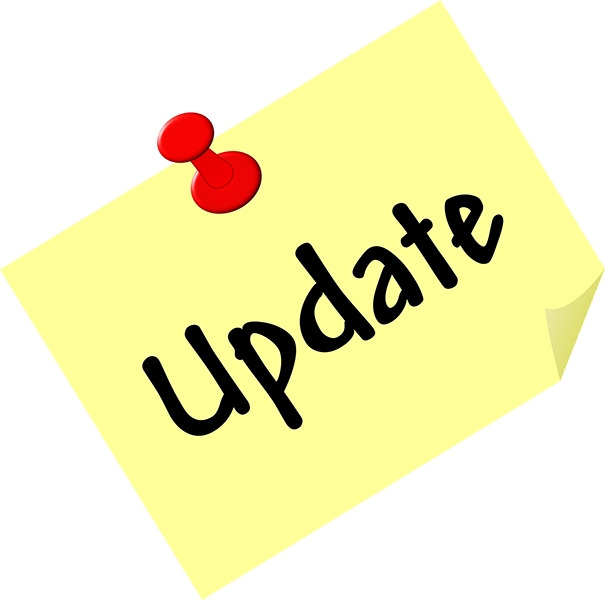 All changes to the website are recorded in the Updates section.
