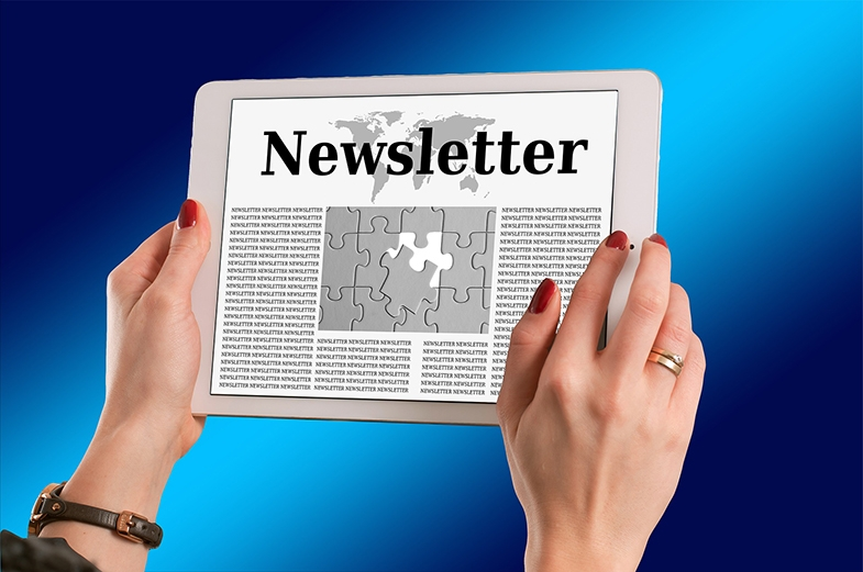 Newsletter emailed to subscribers on 1 October 2019