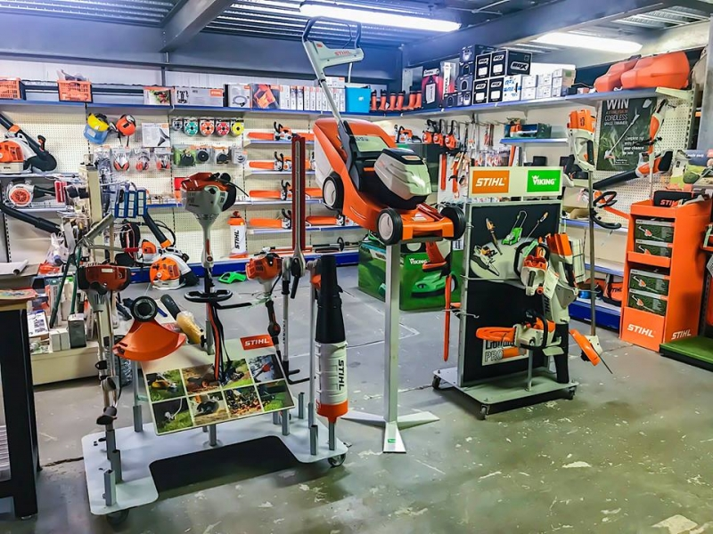 Our STIHL Showroom