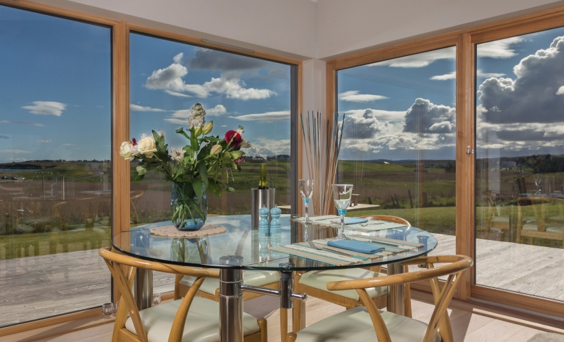 Dining Area With A View!