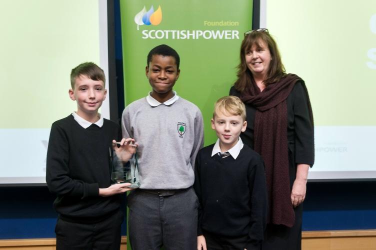 Rebikable recieving their award
