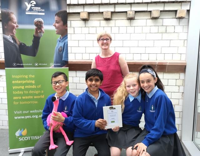 Kelvindale Primary scooped the Zero Waste Scotland Community Award