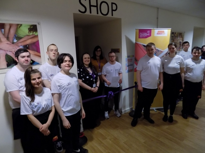 The Wee Shop: New College Lanarkshire